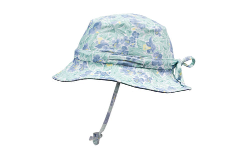 freshwater floral swim bucket hat