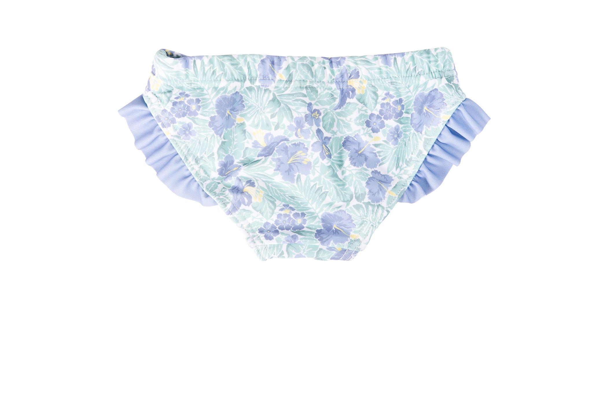 (sample) freshwater floral bikini bottom - sizes 1, 2, 3, 4 & 5 sold out