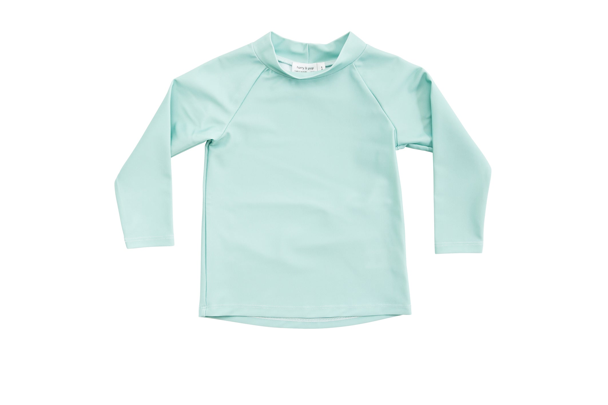 harry & pop original rashguard in great ocean green | rashie | rashvest