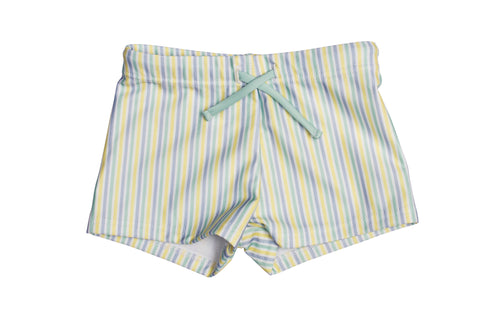 kids bondi blue stripe budgie brief