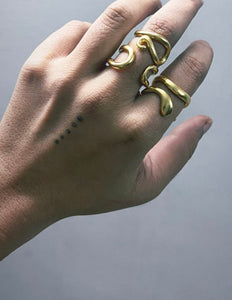 NAGMURI RING SET GOLD