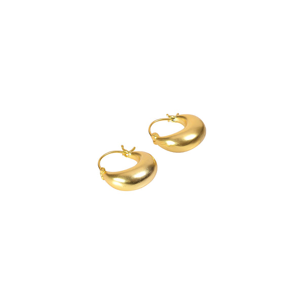 PIRATE HOOPS SMALL GOLD