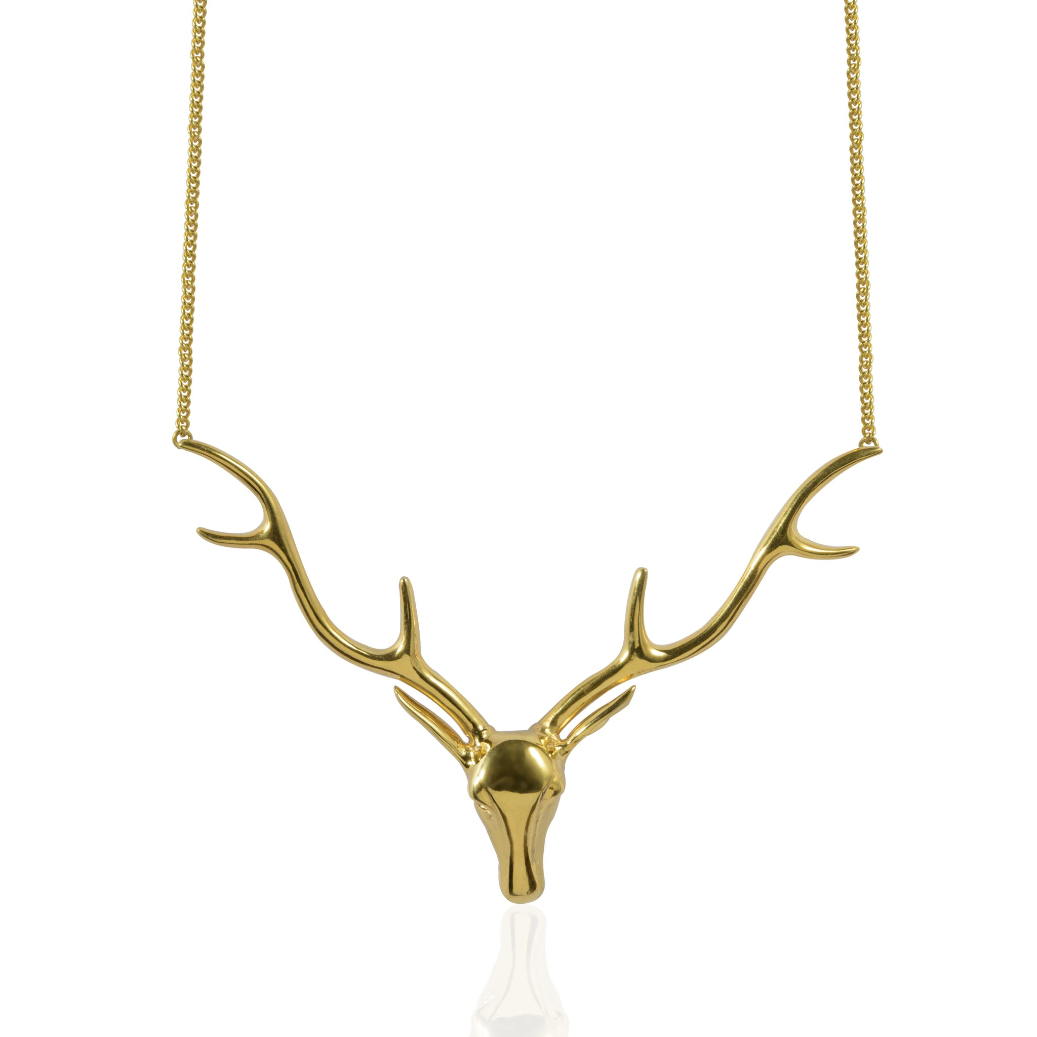 jewelry antler boho for horn rustic deer necklace her