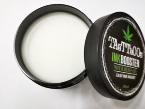 Inkbooster with hemp seed oil