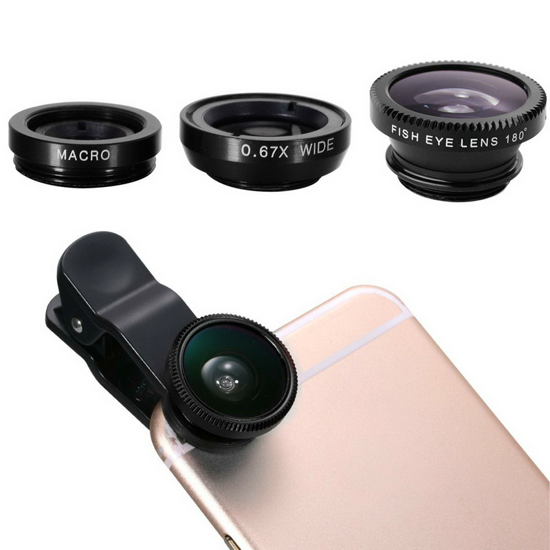Smartphone Lenses 3-in-1 Bundle