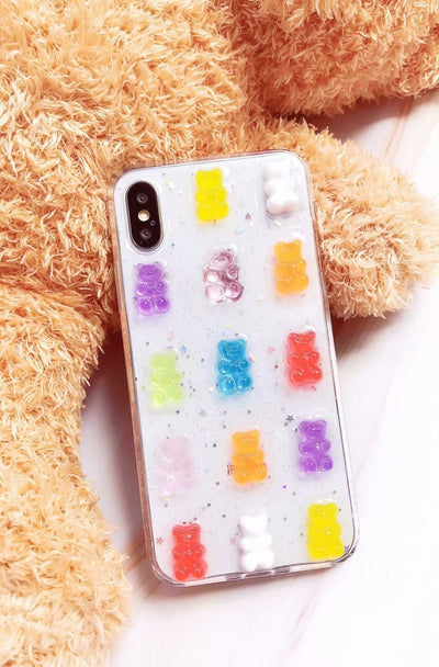 3D Luxury Gummy Bear Phone Case Pacific Bling
