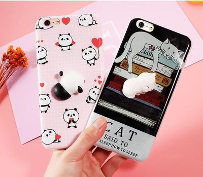 3D Squishy iPhone Case | PANDA Pacific Bling