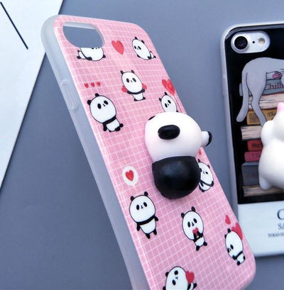 9fbee25c6c 3D Squishy iPhone Case | PANDA - Pacific Bling