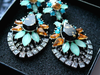 ANITA Vintage Rhinestone Drop Earrings Pacific Bling