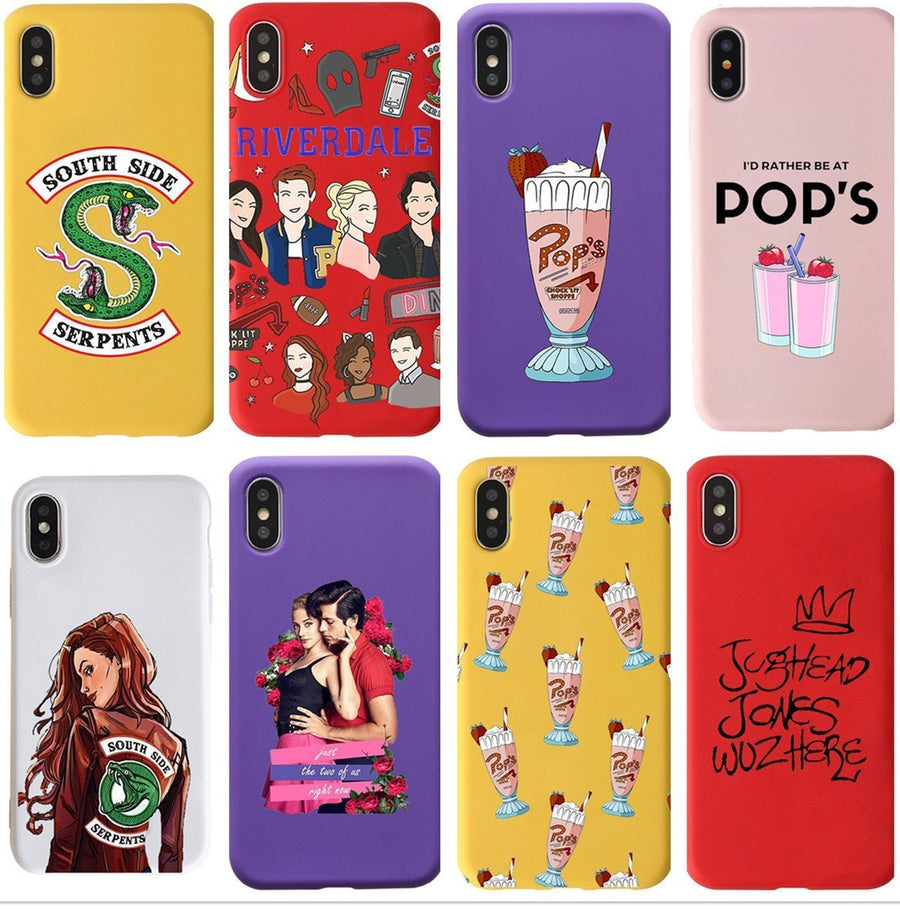 Betty & Jughead Couple Riverdale Phone Case