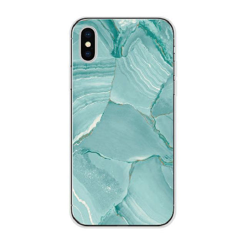 Blue-Green Marble Cellphone Case Pacific Bling