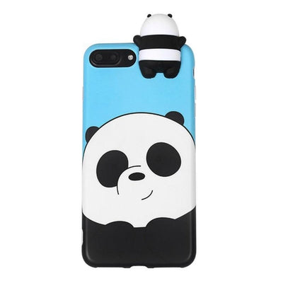Blue We Bare Bears 3D Phone Case Pacific Bling