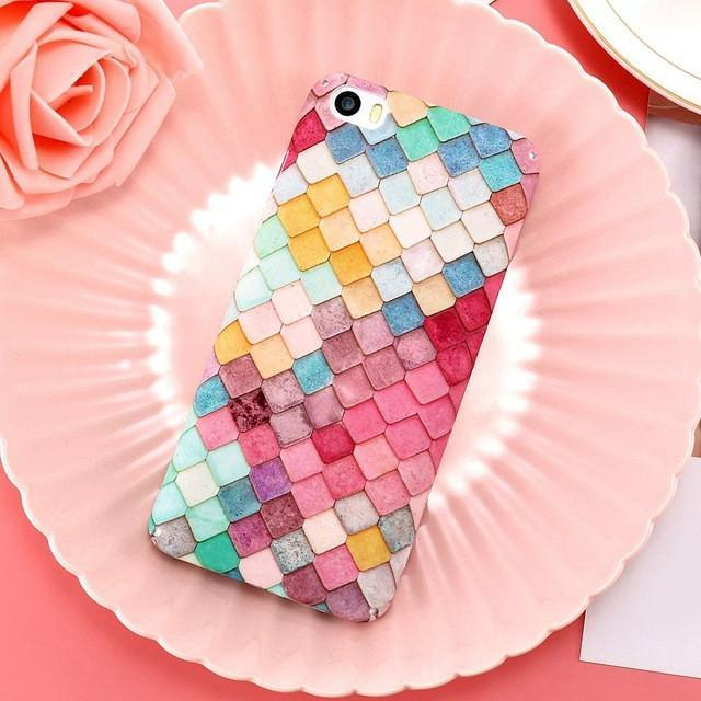 Candy-Coloured Mermaid Cellphone Case