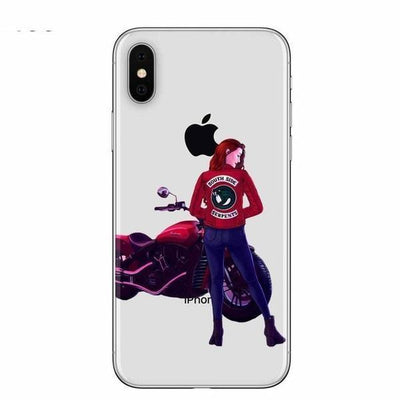 Cheryl Serpents Clear Riverdale Phone Case Pacific Bling