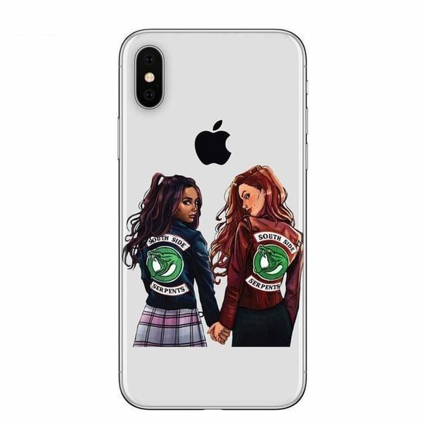 Choni Cheryl & Toni Serpents Riverdale Phone Case