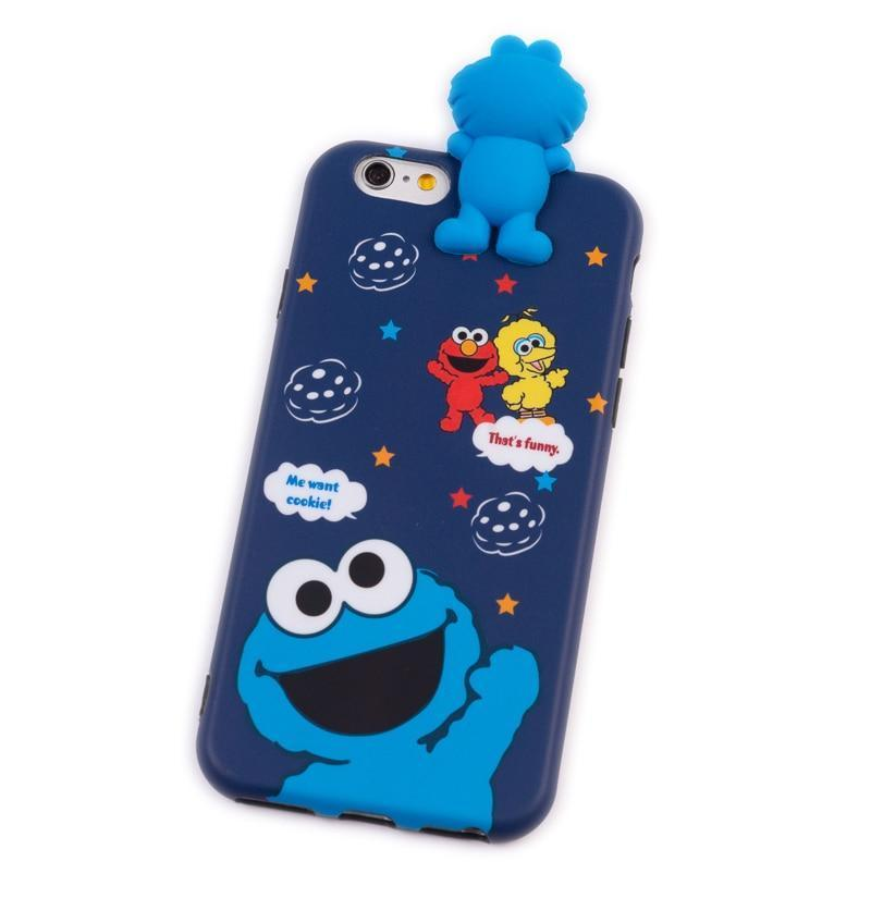 Cookie Monster Sesame Street 3D Phone Case Pacific Bling
