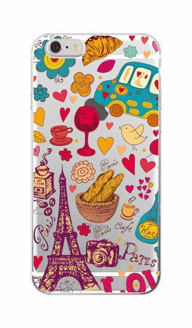 Cute Holiday Cartoon Print Phone Case Vol. 1 Pacific Bling