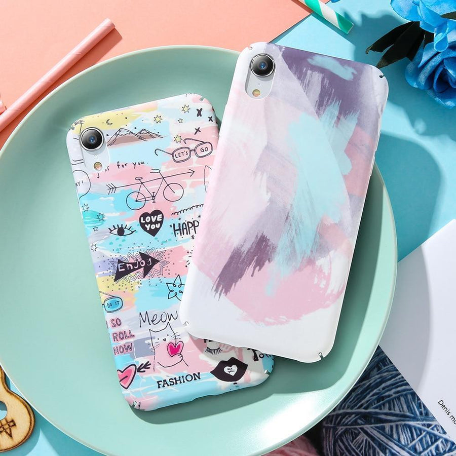 Cute Pastel Artwork Phone Case Pacific Bling
