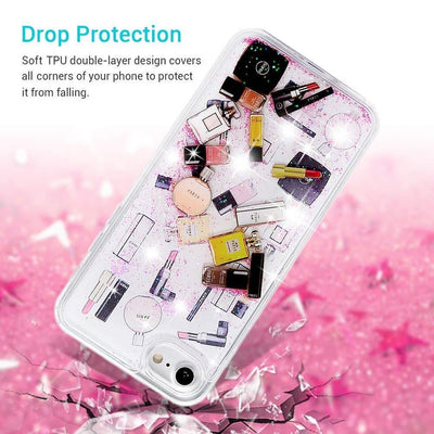 Designer Makeup Glitter Phone Case Pacific Bling