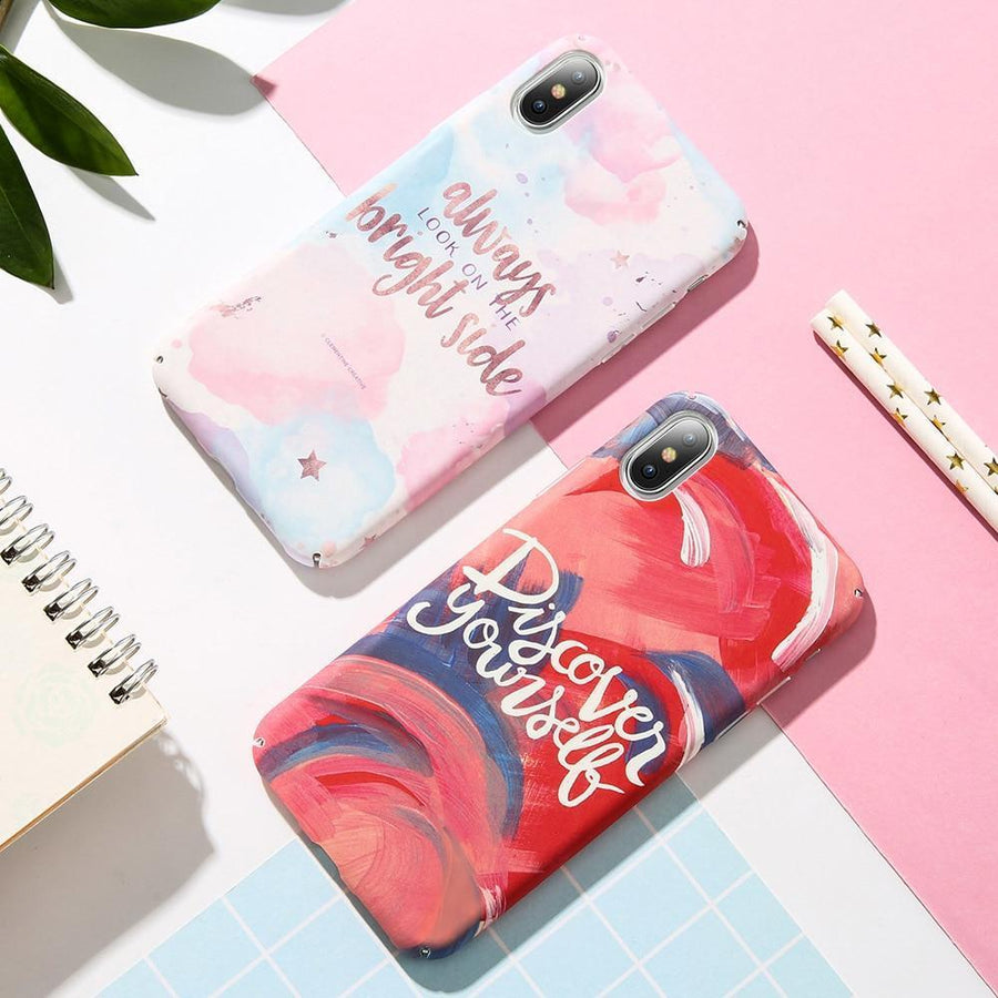 Discover Yourself Quote Phone Case