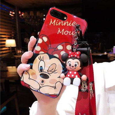 Disney Minnie Mouse Lanyard Phone Case Pacific Bling