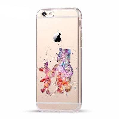 Disney Pooh & Piglet iPhone Case Pacific Bling