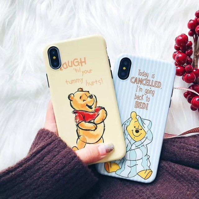 Disney Sleepyhead Winnie the Pooh iPhone Case Pacific Bling
