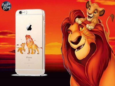 Disney The Lion King Simba & Mufasa iPhone Case Pacific Bling