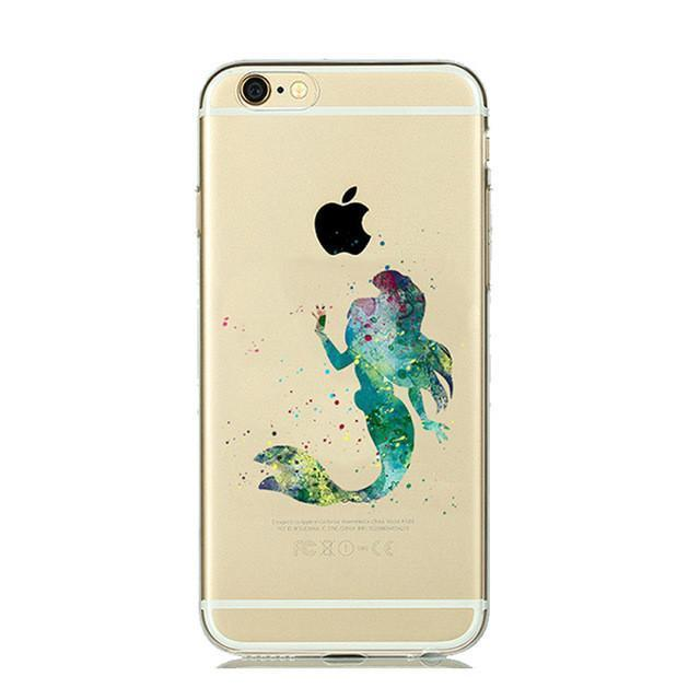 Disney The Little Mermaid Ariel iPhone Case (Green)