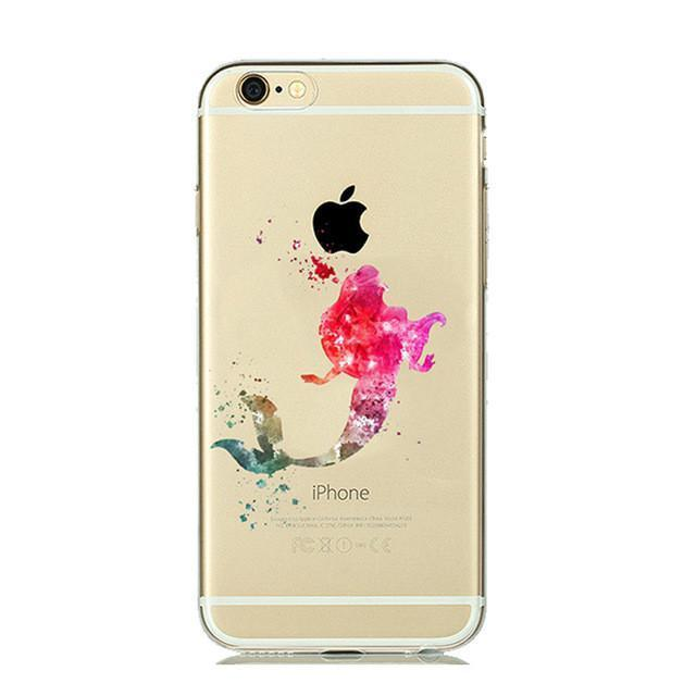 Disney The Little Mermaid Ariel iPhone Case (Pink)