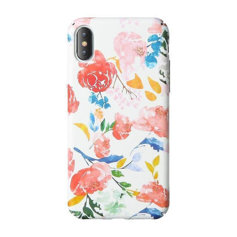 Floral Watercolour Whimsy Phone Case Pacific Bling