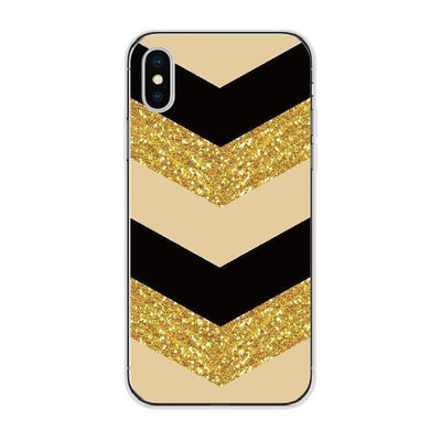 Glittery Chevron Pattern Cellphone Case Pacific Bling