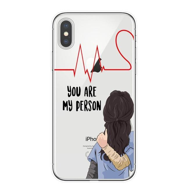 outlet store 4aa98 df1dc Grey's Anatomy BFF Matching Phone Cases