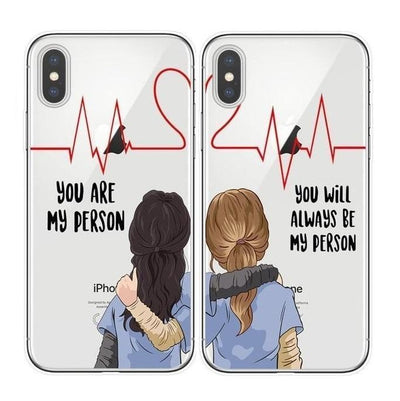Grey's Anatomy BFF Matching Phone Cases Pacific Bling