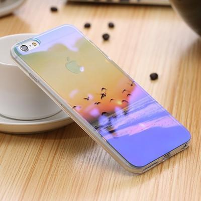 Holographic Blue Ray iPhone Case Pacific Bling