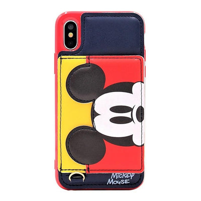 Mickey Mouse 3D Pocket Leather Phone Case Pacific Bling
