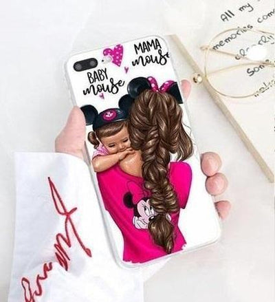 Minnie Mouse Fishtail Momlife Phone Case Pacific Bling