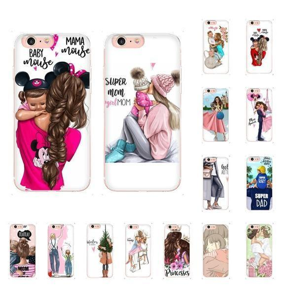 Mom & Daughter Mouse Fishtail Momlife Phone Case