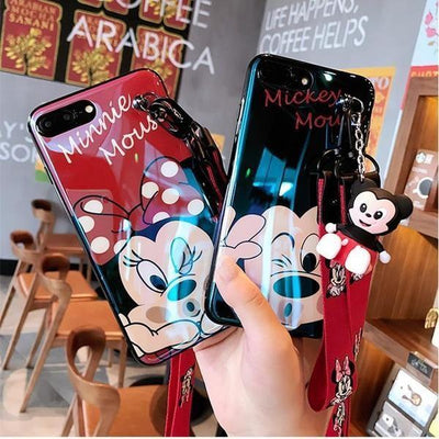 Minnie Mouse Lanyard Phone Case Pacific Bling