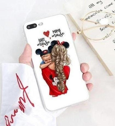 Mom & Baby Minnie Mouse Momlife Phone Case Pacific Bling