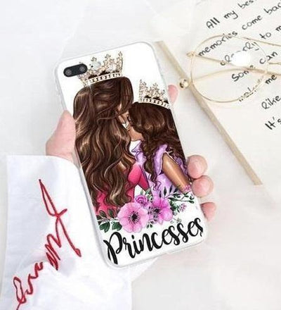 Mom & Daughter Princesses Phone Case Pacific Bling