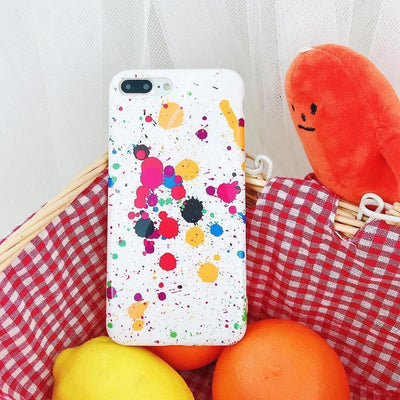 Paint Spatter Art Pattern Phone Case Pacific Bling