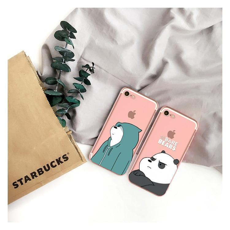 Panda We Bare Bears Phone Case