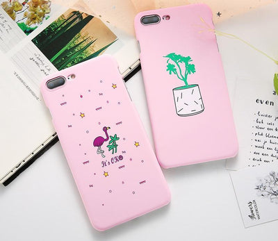 Pink Flamingo Graphic iPhone Case Pacific Bling
