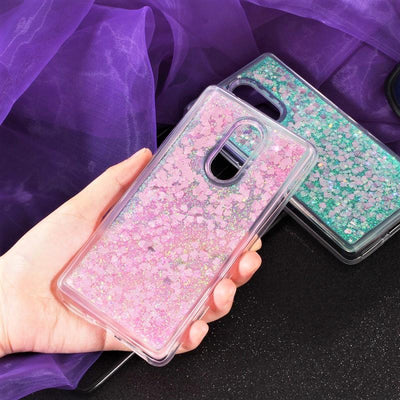 Pink Stardust Liquid Glitter Phone Case Pacific Bling