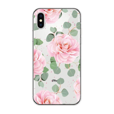 Pink Vintage Floral Succulent Cellphone Case Pacific Bling
