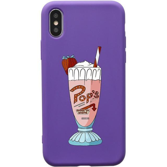 Pop's Strawberry Milkshake Riverdale Phone Case