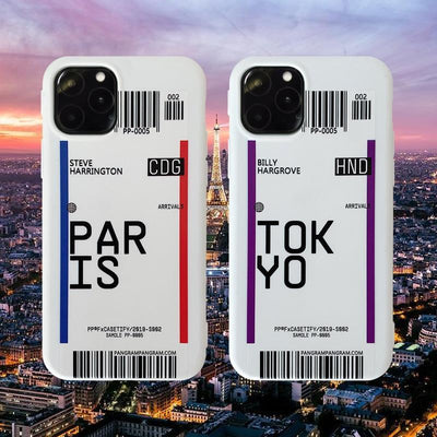 Premium Designer Airport Travel Phone Cases Pacific Bling