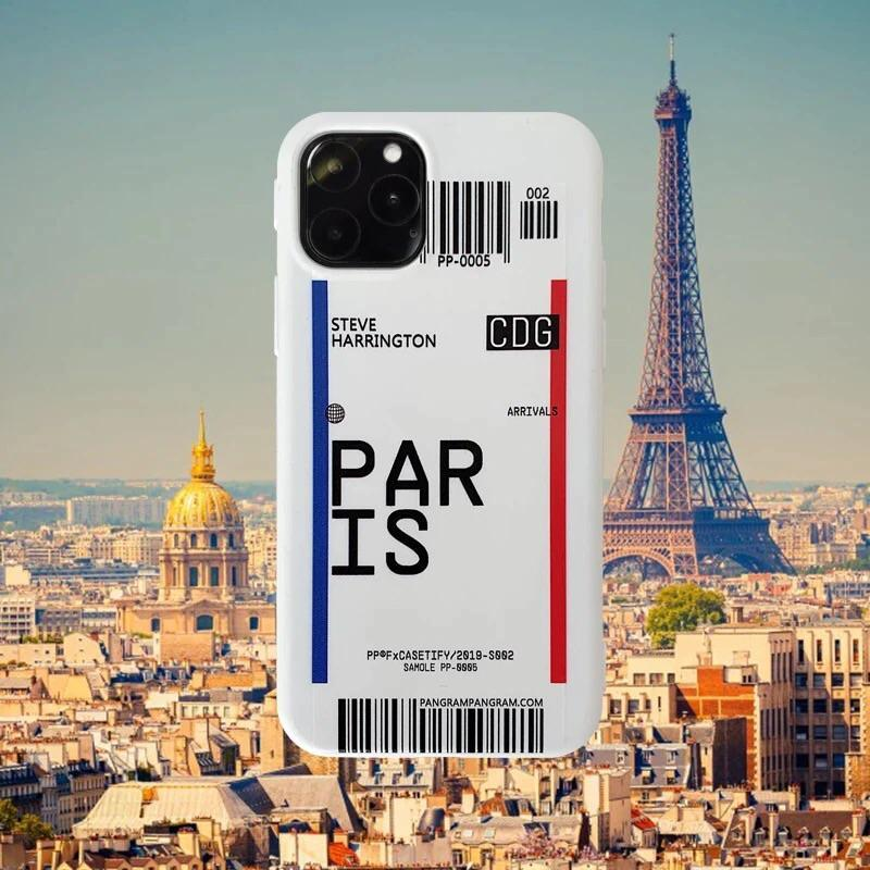 Premium Designer Airport Travel Phone Cases