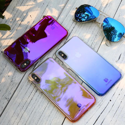 Purple Luxury Blue Ray Cellphone Case Pacific Bling